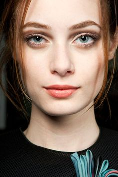 Smokey Eyes AW2015 2016 giorgio-armani #2016 #beauty #trend #makeup #love