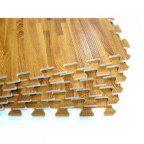 Free Shipping. Buy 96 Sq Ft Eva Foam Floor Mat Interlocking Wood Grain Exercise Gym Playground 24Pc at Walmart.com