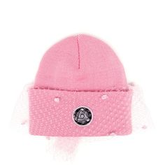 SILVER SPOON ATTIRE Dotted Mesh Veil Beanie Hat (2 830 UAH) ❤ liked on Polyvore  featuring accessories 9eff2c848275