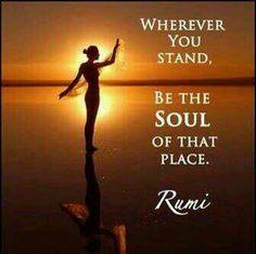 Rumi quote Inspiring!.