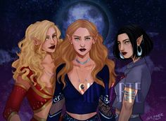 A Court Of Mist & Fury fanart by Silviarte, Mor-Feyre-Amren A Court Of Wings And Ruin, A Court Of Mist And Fury, Throne Of Glass, Roses Book, Feyre And Rhysand, Empire Of Storms, Sarah J Maas Books, Crescent City, Look At The Stars
