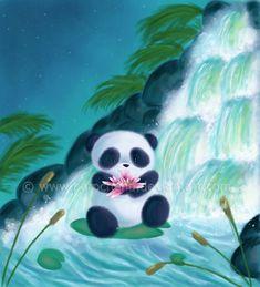 Panda Lilly by parochena.deviantart.com on @deviantART