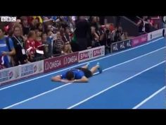 You know what's worse than achieving your life's goal? Thinking you've achieved your life's goal and then getting it yanked away from you. Above, you can see Renaud Lavillenie of France, a gold medalist who thought he'd just achieved the second-highest pole vault in history at the European Indoor Championships.  Not so fast, Renaud. He tipped the... Pole Vault, Life Goals, Two By Two, Indoor, France, Sport, History, Youtube, Gold