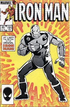 Cover for Iron Man (Marvel, 1968 series) #191 [Direct Edition]