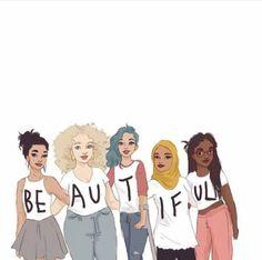 Somos todos lindos, belos e preciosos, nunca nos esquecemos disso.