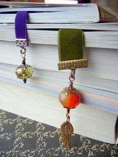 Twelve Days of Christmas Jewelry Designs: 10 – Velvet Bookmarks