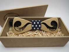 Wood Bow Tie / Mustache Bow Tie / Mens Accessories / Mens necktie / 100% hand made / Best personal gift