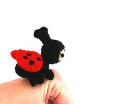 Hey, I found this really awesome Etsy listing at https://www.etsy.com/listing/218459597/miniature-ladybug-tiny-crochet-ladybug