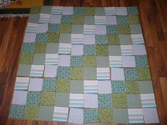 eine Decke entsteht