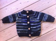 Striped cardigan for Alfred