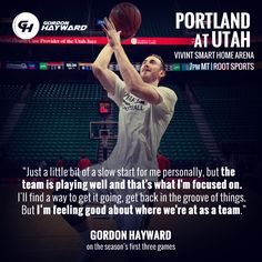 Gordon Hayward #inspirational #quote