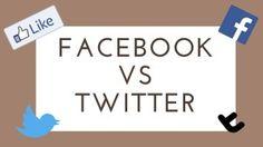 Facebook vs Twitter: diamo i numeri!