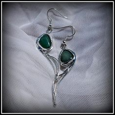 Amazonite earring / SOLD /