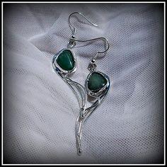 Amazonite earring / SOLD /