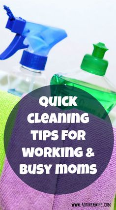Quit cleaning tips f