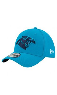 NFL Men s Carolina Panthers New Era Blue Color Rush 39THIRTY Flex Hat 31e293970