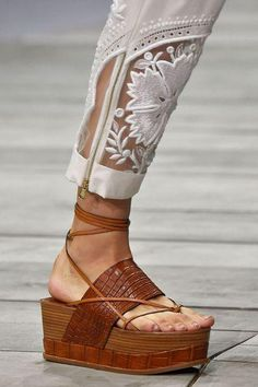 Roberto Cavalli Atelier Costa | Best Shoes Milano Fashion Week Spring Summer 2015