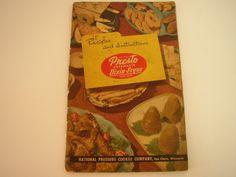 Presto Dixie Fryer #Vintage #Cookbook 1950 Deep Fry #Recipe Book Eau Claire WI Cook Book