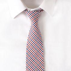 Maxton Men cotton crosshatch #necktie, $38