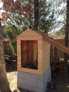 learn how to build a smokehouse with this awesome diy project - Meat Smokehouse Plans