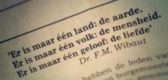 Sommige oude wijsheden, zijn nog steeds wijs....