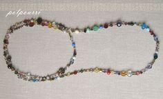 Potpourri necklace by dejarnette of new orleans