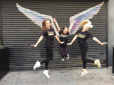 Maddie, Jojo, and Kenzie at Dancers Against Cancer shoot #Dancersagainstcancer