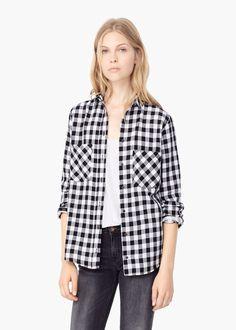 Bawełniana koszula w kratę | MANGO http://shop.mango.com/PL/p0/kobieta/odziez/koszule/bawe%C5%82niana-koszula-w-krate/?id=55063520_99&n=1&s=prendas.blusas&ident=0__0_1450562857098&ts=1450562857098&p=207&page=12