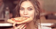 "Every Emotion You Experience During Fashion Week #refinery29  http://www.refinery29.com/fashion-week-gif-reaction-guide#slide-13  When you're backstage and desperate to tear up a slice, but there's a photographer nearby so you take a ""fashion bite"" instead."
