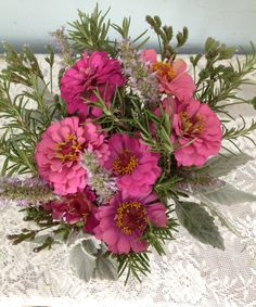 zinnia july bouquet #arrangementsbylee copyrightlmc