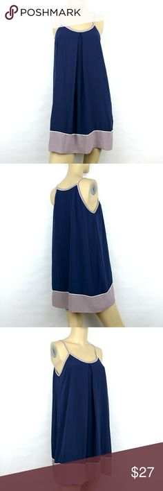 SHE & SKY Tunic Shift Swing Dress Womens Medium SHE & SKY Tunic Shift Flowy Swing Dress Womens Medium Blue and Lavender (B) SHE & SKY Dresses
