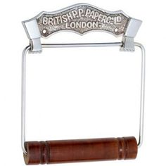 4867 British Toilet Roll Holder CP
