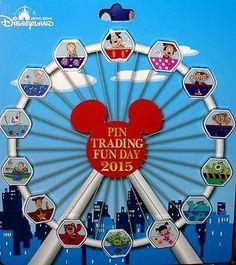Disney Pin 2015 Pin Trading  Magical Ferris Wheel Anna ,Elsa , Olaf ....Full set