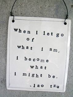 plaque lao tzu quote  MADE TO ORDER by mbartstudios on Etsy, $28.00