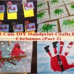 12 Cute DIY Handprint Crafts For Christmas (Part 2)