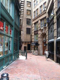 Boston side street