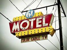 Photographic Print: Vintage Motel V by Recapturist : 24x18in