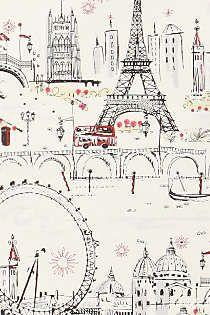 Anthropologie - C'est Magnifique Wallpaper