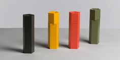 ORI salt & pepper origami mills. Design: Anderssen & Voll.