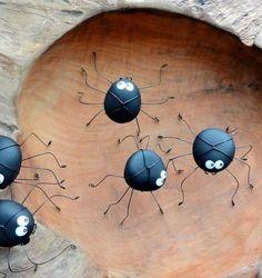 50 ideen für diy gartendeko und kreative gartengestaltung mit diy spinen aus steinen