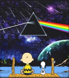 Even Snoopy digs Pink Floyd