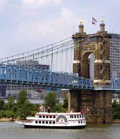 Cincinnati Ohio - BB Riverboats