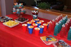 Sometimes Creative: Superhero Birthday Party