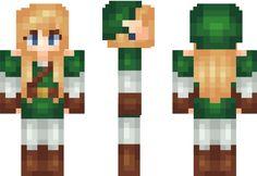 Link Fangirl Minecraft Skin