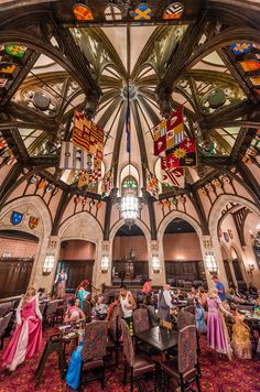 Food isn't the main draw of dining in Cinderella Castle at Walt Disney World, but it's a surprisingly good meal! See our food and character photos from the restaurant...