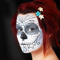 Sugar Skull by Inkzilla.deviantart.com on @deviantART