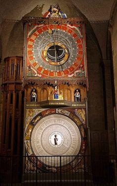 Relógio astronômico da catedral de Lund, Suécia