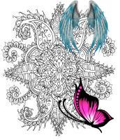 WelshPixie User Profile   DeviantArt Flower Doodle by WelshPixie<br>