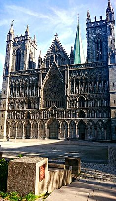 Nidaros Cathedral in Trondheim is the largest medieval building in Scandinavia and the most important church in Norway. Since its foundation in 1066