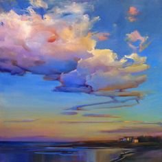 """""""Late Day Billows,"""" by Holly Ready."""
